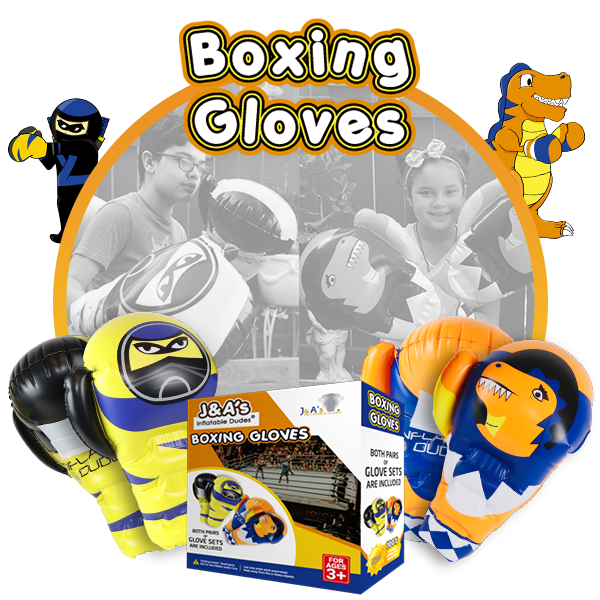 Kids Punching Bags - Boxing gloves