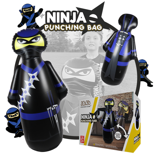 Kids Punching Bags - Ninja