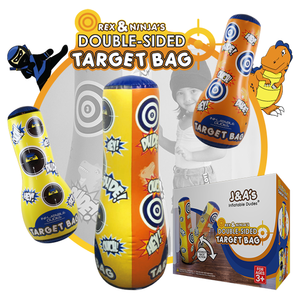 Kids Punching Bags - Double sided target bag