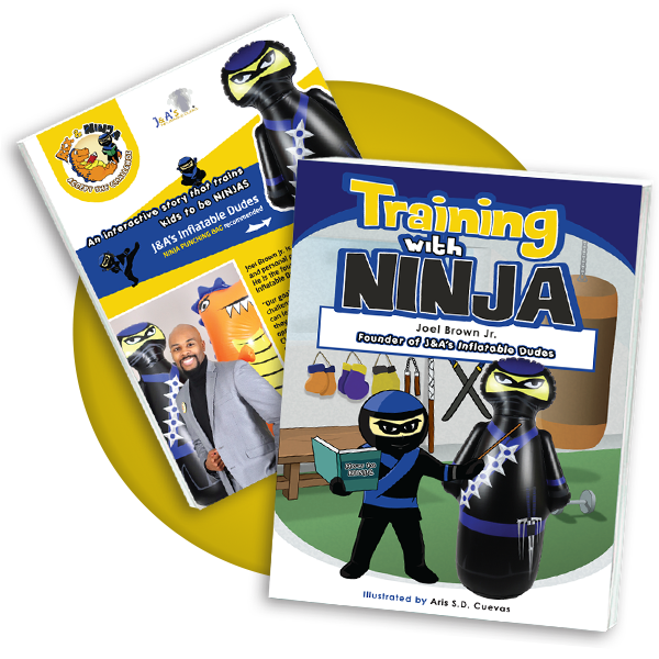 Kids Punching Bags - Training with Ninja book