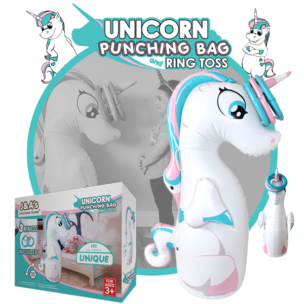 Kids Punching Bags - Unique ring toss