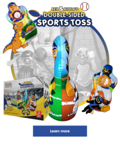 Double sided sports toss learn more